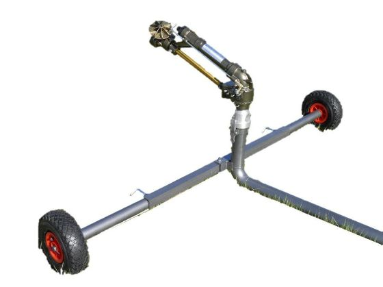 DuCaR Jet 35T Turbine Drive Sprinkler with Cart