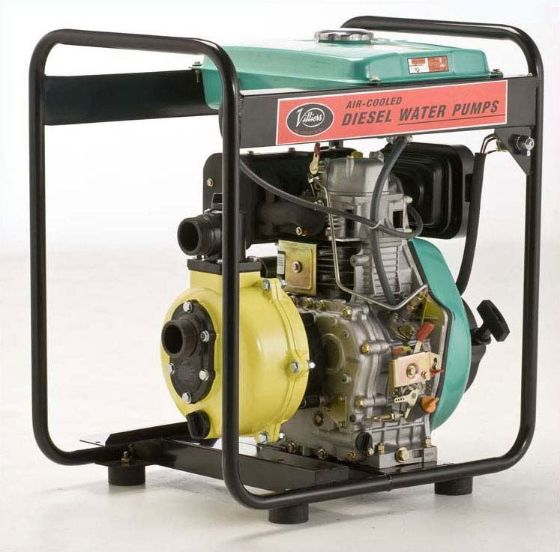 Villiers Diesel Engine Driven High Pressure High Volume Water Pumps
