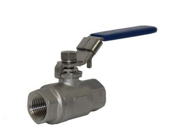 2 Piece Stainless Steel Ball Valve