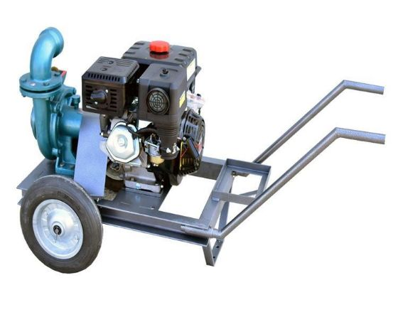 DuCaR 13 HP Petrol Powered High Volume and Pressure Irrigation Pump