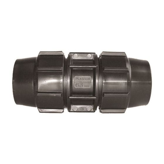 Plasson 7010 Metric Coupling