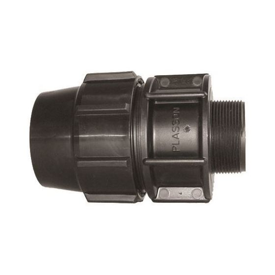 Plasson 7020 Metric Male Adaptor