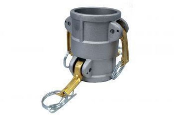 Aluminium Double Female Camlock Type DD Coupler - Female by Female