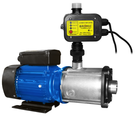 Bromic-Waterboy-116L-Multi-Stage-Pump-1.3kW-And-Controller-3kW